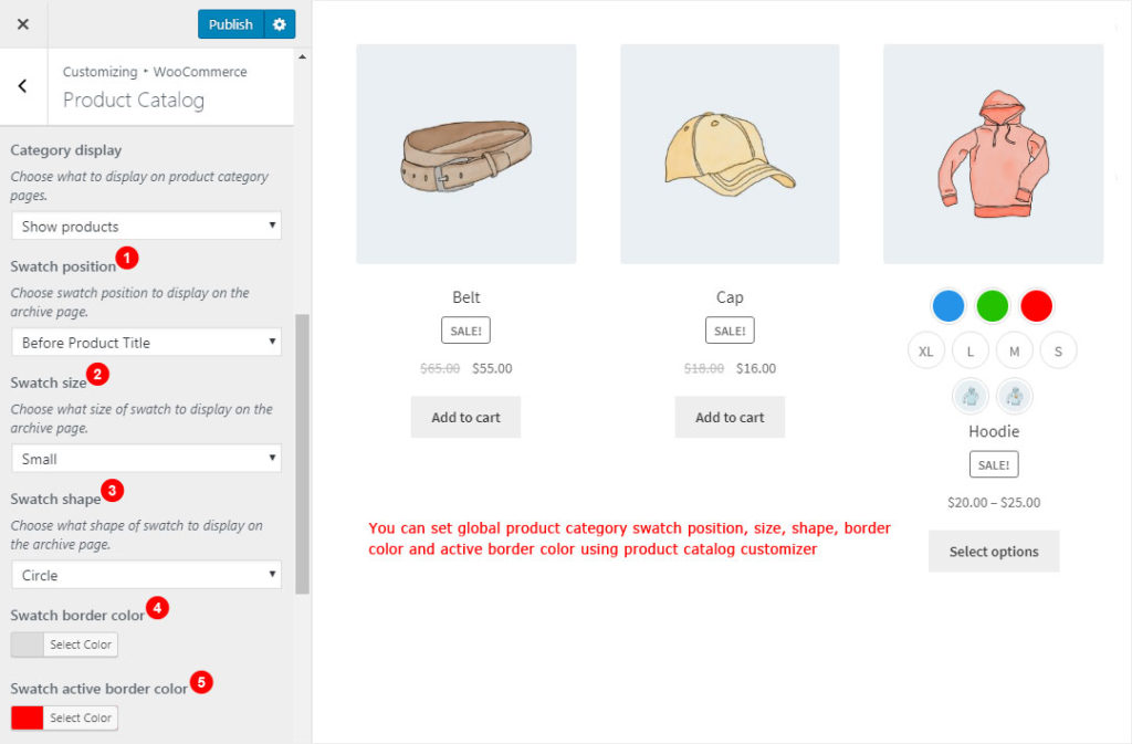 Advanced Variable Product Attributes (Swatches) | Woo Plugin