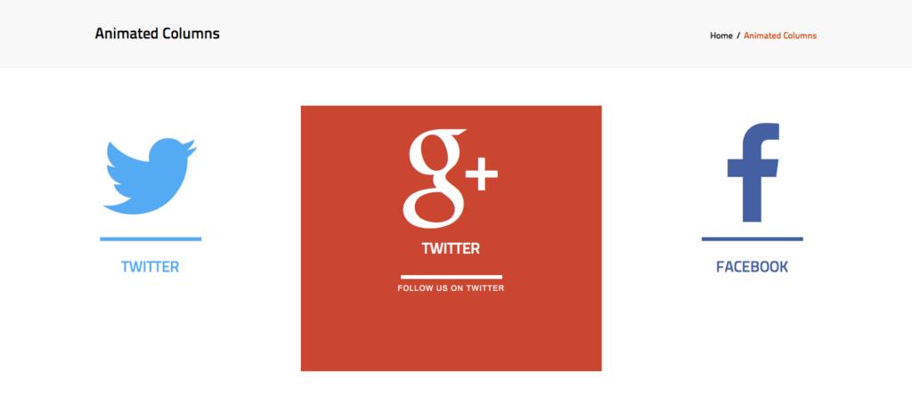 animated columns google highlighted