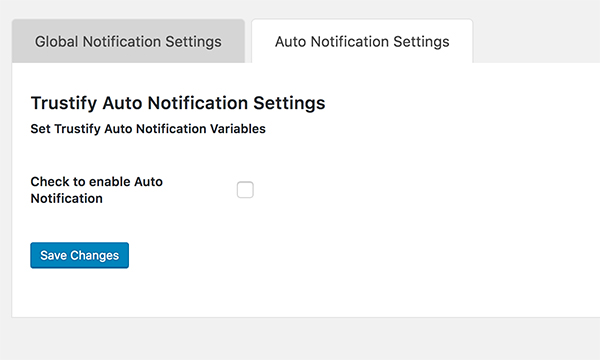 Enable Auto Notifications