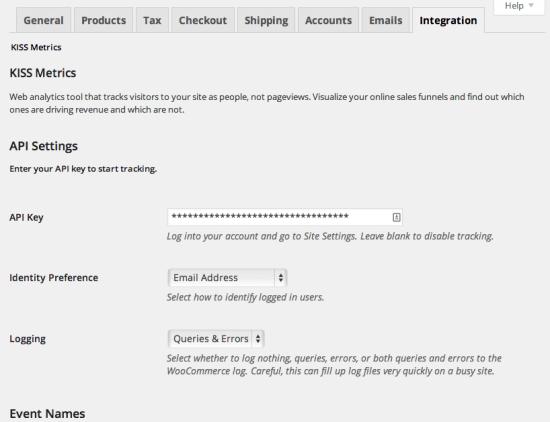 Admin settings