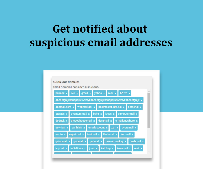 suspicious email addresses