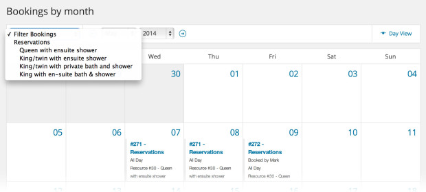 Manage Calendar