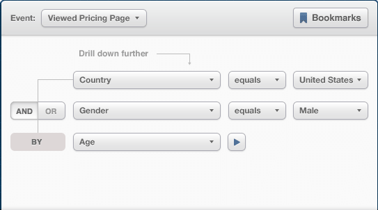 viewed pricing page option