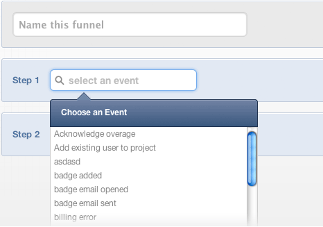 how to create the funnel