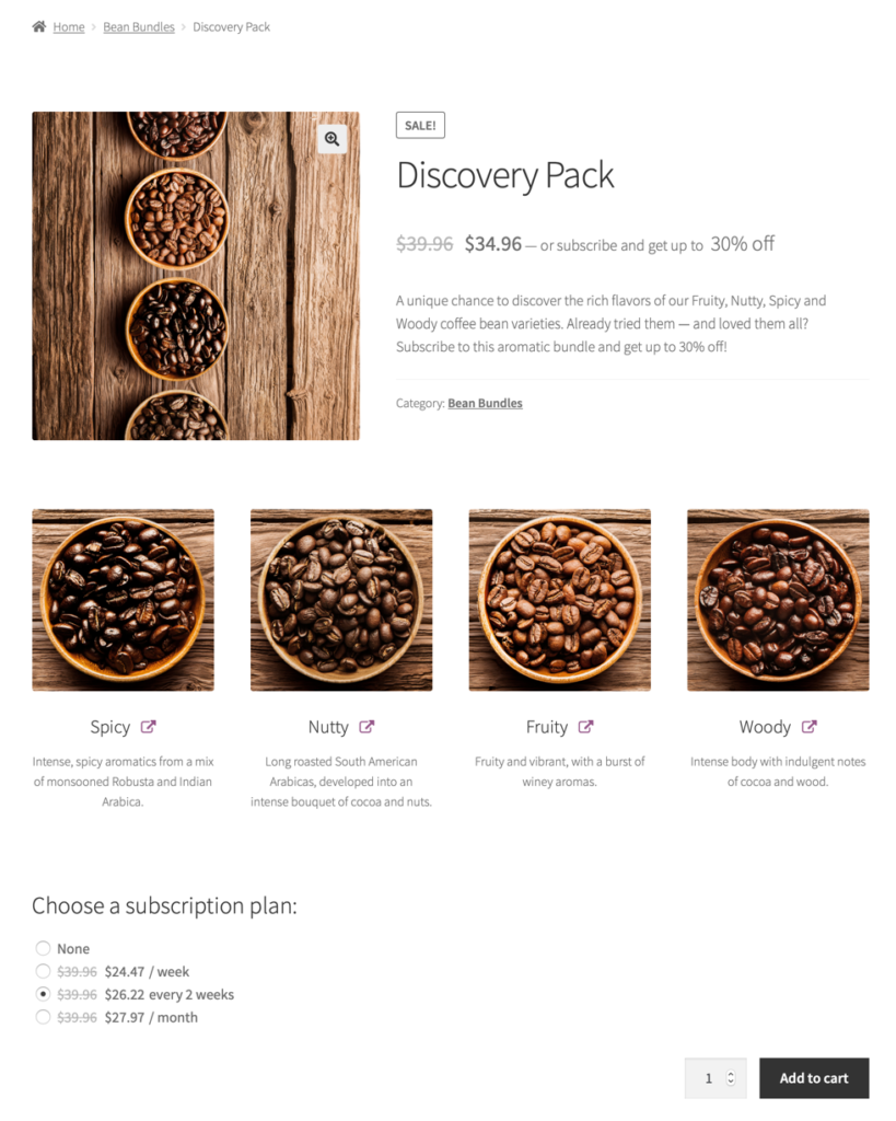 Offer configurable subscription boxes
