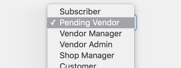 Multiple vendor settings