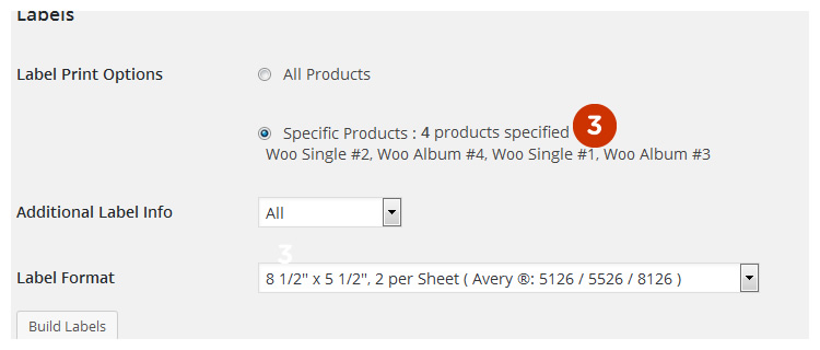 Scanventory label print settings 2